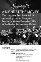 Longview Symphony - A Night at the Movies